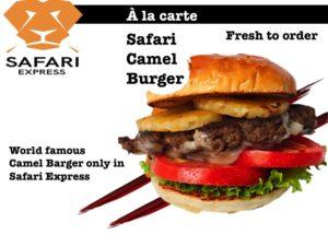 Camel Burger